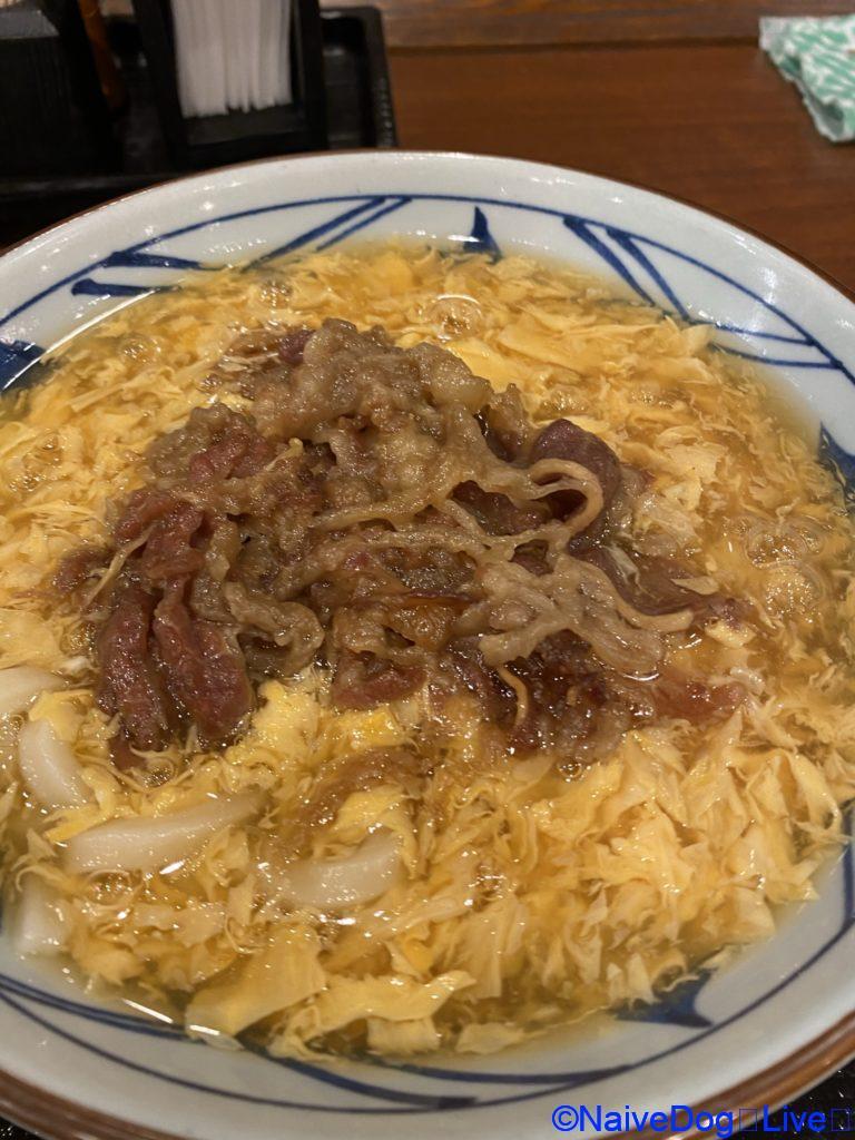 丸亀製麺 たまごあんかけ