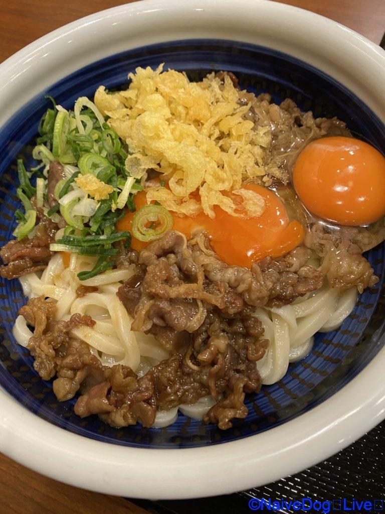 丸亀製麺 肉ぶっかけうどん